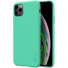 Nillkin Super Frosted Shield - Etui Apple iPhone 11 Pro (Mint Green)