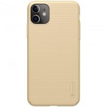 Nillkin Super Frosted Shield - Etui Apple iPhone 11 (Golden)