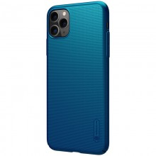 Nillkin Super Frosted Shield - Etui Apple iPhone 11 Pro Max (Peacock Blue)