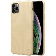 Nillkin Super Frosted Shield - Etui Apple iPhone 11 Pro Max (Golden)