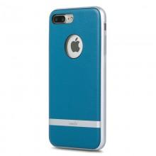 Moshi Napa - Etui iPhone 8 Plus / 7 Plus (Marine Blue)