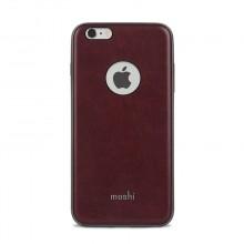 Moshi iGlaze Napa - Etui iPhone 6s Plus / iPhone 6 Plus (Burgundy Red)