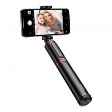 Baseus Selfie Stick - teleskopowy rozsuwany kijek do selfie + statyw z pilotem Bluetooth