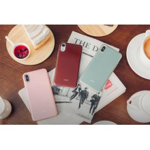 Moshi iGlaze - Etui iPhone Xs Max (Pearl White)