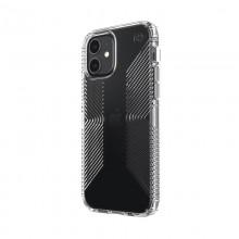 Speck Presidio Perfect-Clear with Grips - Etui iPhone 12 / iPhone 12 Pro z powłoką MICROBAN (Clear)