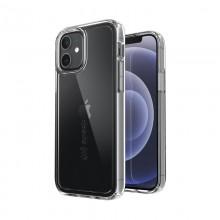 Speck Gemshell + Glass Bundle – Zestaw etui z ochroną MICROBAN + szkło ochronne na ekran iPhone 12 / iPhone 12 Pro