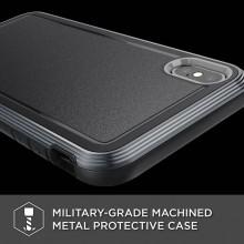 X-Doria Defense Ultra - Pancerne etui iPhone Xs Max (Drop test 4m) (Black)