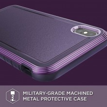X-Doria Defense Ultra - Pancerne etui iPhone Xs Max (Drop test 4m) (Purple)