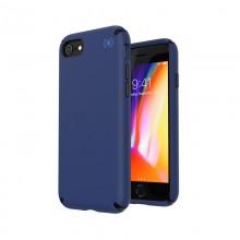 Speck Presidio2 Pro - Etui iPhone SE 2020 / 8 / 7 / 6s z powłoką MICROBAN (Coastal Blue/Black/Storm Grey)