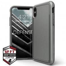 X-Doria Defense Ultra - Pancerne etui iPhone Xs / X (Drop test 4m) (Grey)