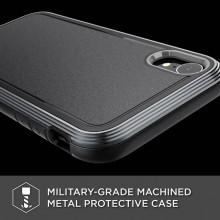 X-Doria Defense Ultra - Pancerne etui iPhone XR (Drop test 4m) (Black)