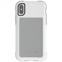 Griffin Survivor Fit - Pancerne etui iPhone X (biały/szary)
