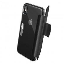 X-Doria Engage Folio - Etui iPhone X z kieszeniami na karty (Black)