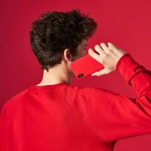 PURO ICON Cover - Etui iPhone SE 2020 / 8 / 7 / 6s / 6 (czerwony)