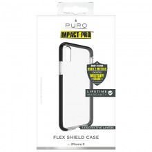 PURO Impact Pro Flex Shield - Etui iPhone XR (czarny)