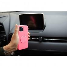 PURO ICON+ Cover - Etui magnetyczne iPhone XR (fluo fuksja)