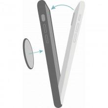 PURO ICON+ Cover - Etui magnetyczne iPhone XR (fluo zielony)