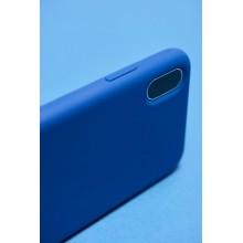 PURO ICON Cover - Etui iPhone Xs Max (granatowy) Limited edition