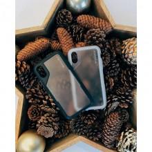 Griffin Survivor Endurance - Pancerne etui iPhone Xs Max (przezroczysty/szary)