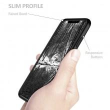 Zizo Fuse Case - Etui iPhone Xs Max + szkło ochronne hartowane na ekran (Black)