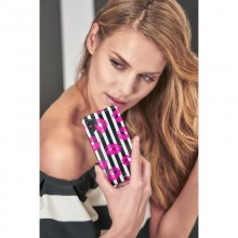 PURO Glam Miami Stripes - Etui iPhone Xs / X (Kiss)
