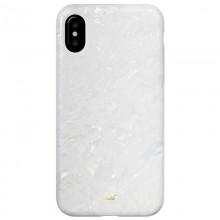 Laut POP PEARL - Etui iPhone Xs / X z 2 foliami na ekran w zestawie (Arctic Pearl)