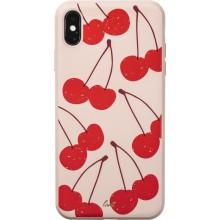 Laut TUTTI FRUTTI - Etui iPhone Xs Max o prawdziwym zapachu owocu (Cherry)