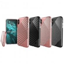 X-Doria Revel Lux - Etui iPhone X (Black Rays)