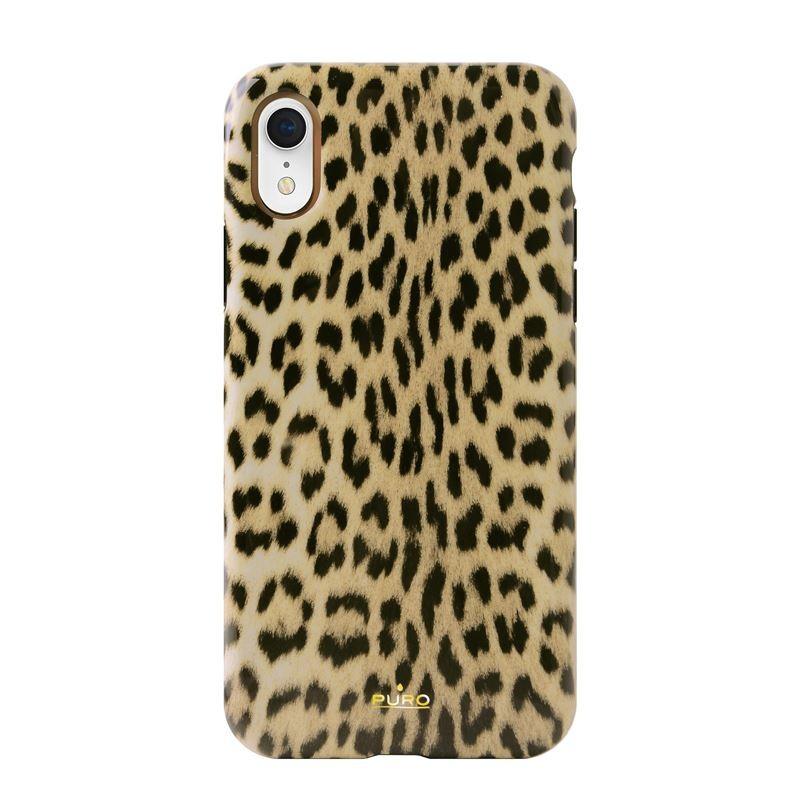 PURO Glam Leopard Cover - Etui iPhone XR (Leo 1)