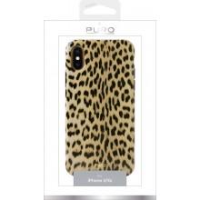 PURO Glam Leopard Cover - Etui iPhone Xs / X (Leo 1)