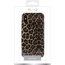 PURO Glam Leopard Cover - Etui iPhone Xs / X (Leo 2)