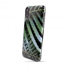 PURO Glam Tropical Leaves - Etui iPhone Xs / X (Brilliant Leaves)