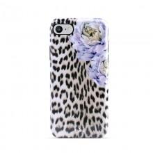 PURO Glam Sweet Leopard - Etui iPhone SE 2020 / 8 / 7 / 6s (Leo Peonies)