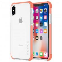 Incipio Reprieve SPORT - Etui iPhone Xs / X (Coral/Clear)