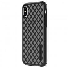 Incipio DualPro Sport - Etui iPhone Xs / X (ciemny przezroczysty)