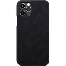 Nillkin Qin Leather Case - Etui Apple iPhone 12 / 12 Pro (Black)