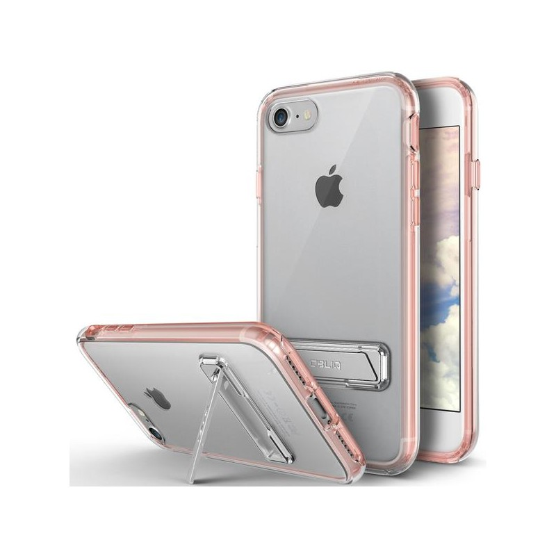 Obliq Naked Shield Kickstand - Etui z podstawką iPhone 7 (Rose Gold)