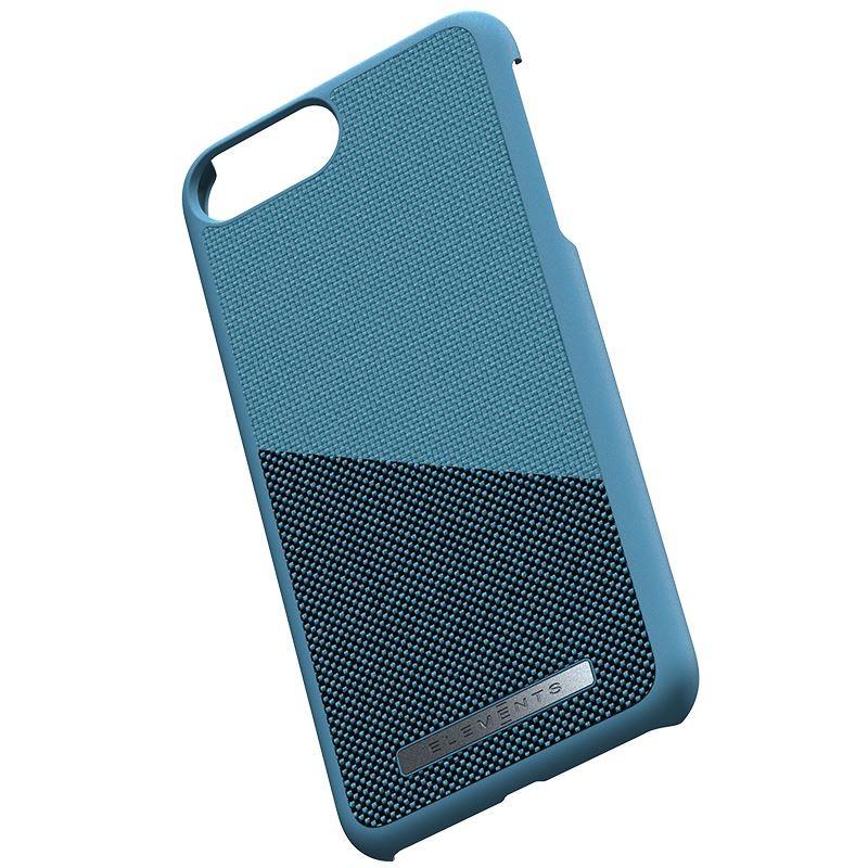 Nordic Elements Saeson Freja - Materiałowe etui iPhone 8 Plus / 7 Plus / 6s Plus / 6 Plus (Petrol)