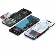 Nordic Elements Saeson Freja - Materiałowe etui iPhone XR (Petrol)