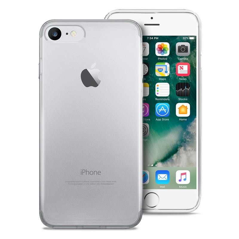 PURO 0.3 Nude - Etui iPhone SE 2020 / 8 / 7 (przezroczysty)