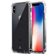 Crong Hybrid Protect Cover - Etui iPhone Xs / X (przezroczysty)