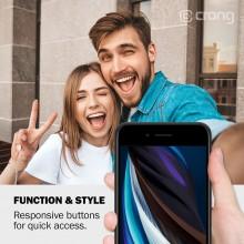 Crong Color Cover - Etui iPhone SE 2020 / 8 / 7 (czerwony)