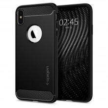 SPIGEN RUGGED ARMOR IPHONE X/XS MATTE BLACK
