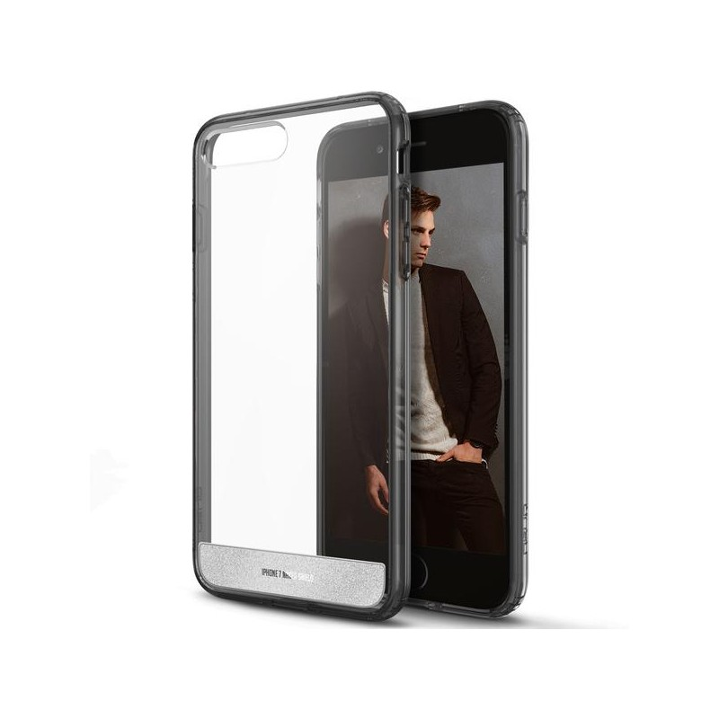 Obliq Naked Shield - Etui iPhone 8 Plus / 7 Plus (Smoky Black)