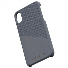 Nordic Elements Original Hel - Drewniane etui iPhone Xs / X (Mid Grey)