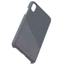 Nordic Elements Original Hel - Drewniane etui iPhone Xs Max (Mid Grey)