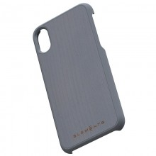 Nordic Elements Original Gefion - Drewniane etui iPhone Xs / X (Mid Grey)