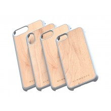 Nordic Elements Original Gefion - Drewniane etui iPhone Xs Max (Light Grey)
