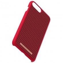Nordic Elements Saeson Idun - Materiałowe etui iPhone 8 Plus / 7 Plus / 6s Plus / 6 Plus (Red)