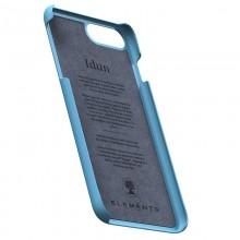 Nordic Elements Saeson Idun - Materiałowe etui iPhone 8 Plus / 7 Plus / 6s Plus / 6 Plus (Petrol)